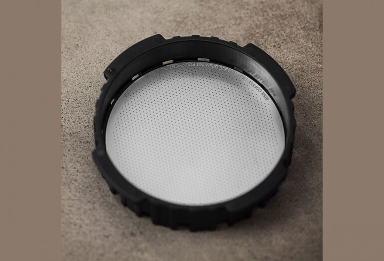 Able Reusable Metal Filter in AeroPress Cap