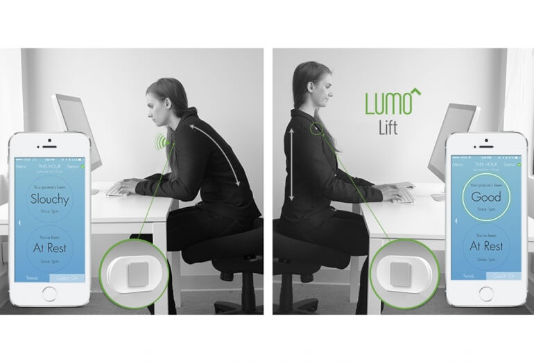 Lumo Lift transition showing app response