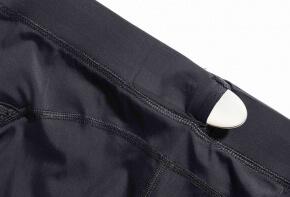 Lumo Run sensor in shorts