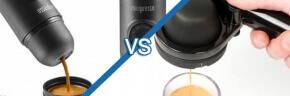 Handpresso vs Minipresso Comparison