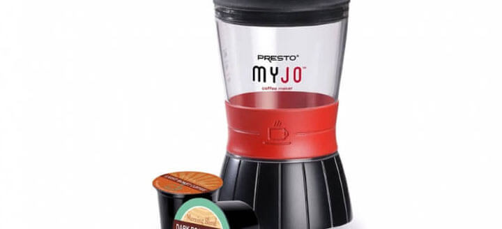 MyJo Single Serve Coffee Maker