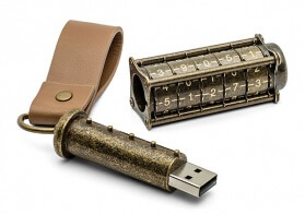 Password Protected USB Cryptex Drive