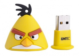 Yellow Angry Birds USB