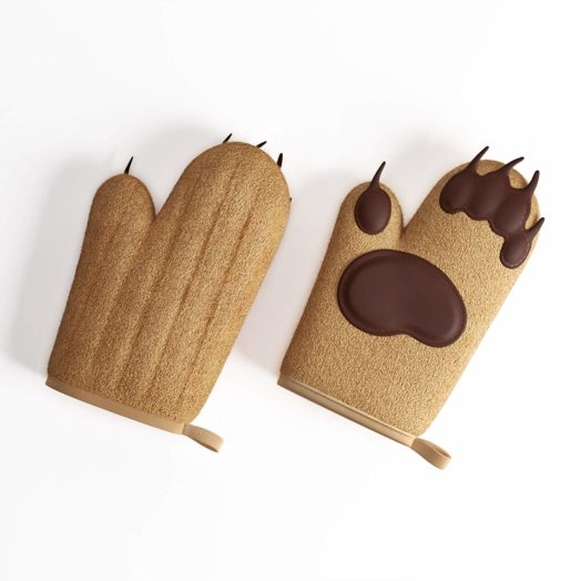 bear paw oven mitts