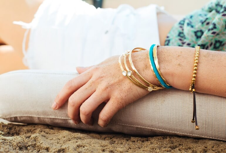 Bittersweet Gold with Other Bracelets