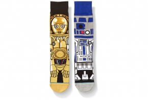 R2D2 and C3PO Socks by Stance
