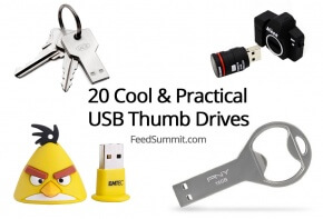 Cool and Practical USB Thumb Drive Header