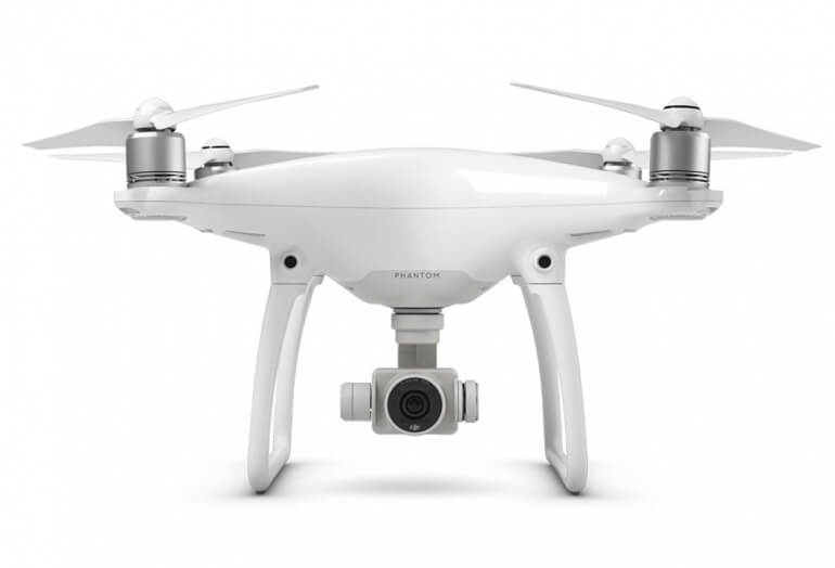 Front view of the Phantom 4