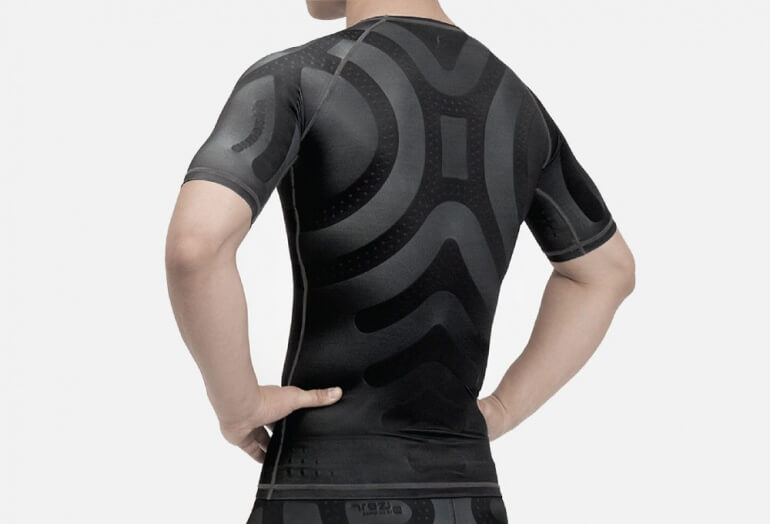 Enerskin T-Shirt Back
