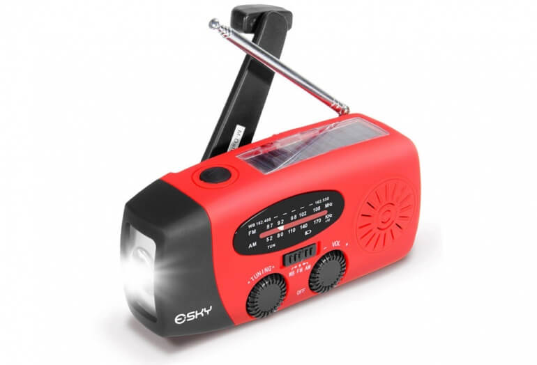 Esky Emergency Radio, Light & Charger