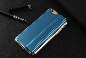 Closed Blue iPhone 6 Lighter Case