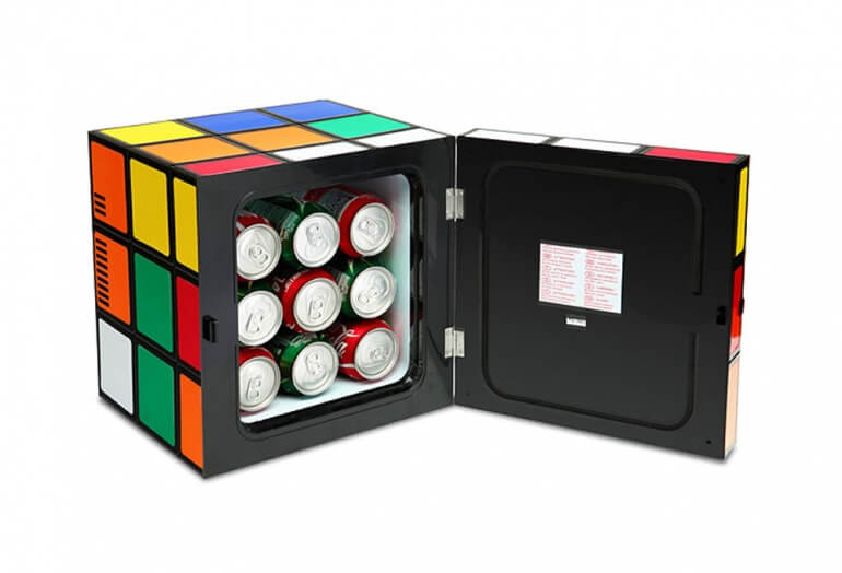 Rubiks Cube Fridge & Warmer